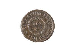 CRISPVS, 317-326 AD AS CEASER, AE 3, SISCIA MINT