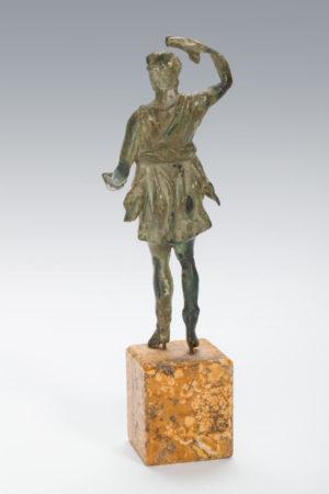 Roman bronze Lar