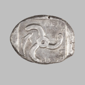 LYCIA, DYNASTS, MITHRAPATA, AR STATER, 380 BC