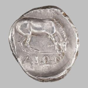THEASSALY, LARISSA AR STATER, 350-325 BC