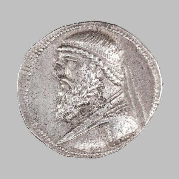 PARTHIAN KINGDOM, MITHRIDATES II, TETRADRACHM 123 - 88 BC