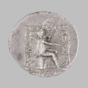 PARTHIAN KINGDOM, MITHRIDATES II, TETRADRACHM 123 - 88 BC rev