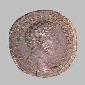 MARCVS AVRELIVS, (161-180 AD) AE SESTERTIUS,