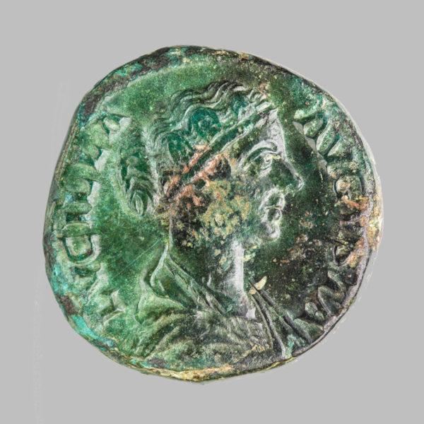 LUCILLA, (149-182 AD), AE SESTERIUS, 164-166 AD