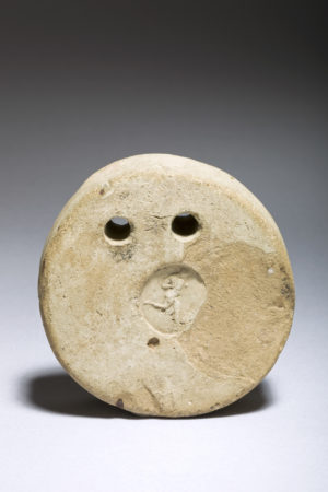 terracotta label or loom weight