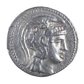 ATTICA, ATHENS,silver tetradrachm, New Style, 142-141 BC