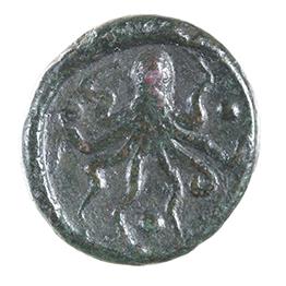 SYRACUSE, AE (17) TRIAS, 435-413 BC REV