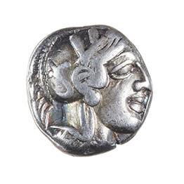 ATTICA, ATHENS, silver drachm, 430-410 BC
