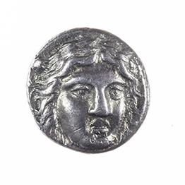 CARIAN SATRAPS, MaUSOLLOS, AR drachm, after 168 BC