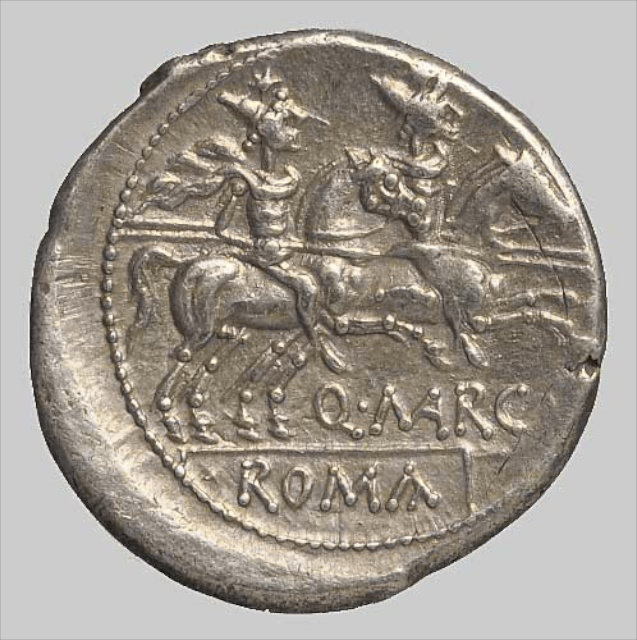 ANONYMOUS DENARIUS rev