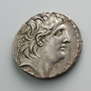 ANTIOCHOS VII, AR TETRADRACHM, 138-129 BC, ANTIOCH MINT, 149-146 BC