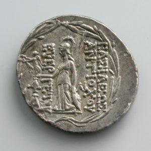 ANTIOCHOS VII, AR TETRADRACHM, 138-129 BC, ANTIOCH MINT, 149-146 BC rev