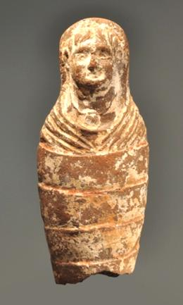 TERRACOTTA VOTIVE INFANT