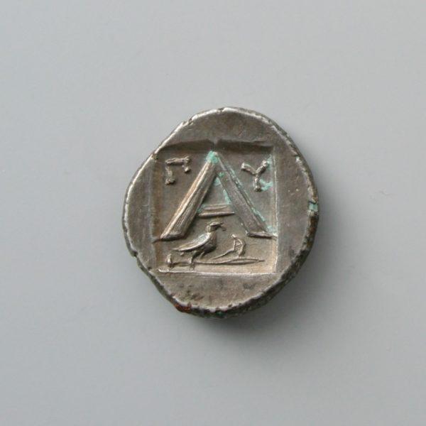 ARGOLIS, ARGOS, AR HEMIDRACHM, 3RD CENT. BC