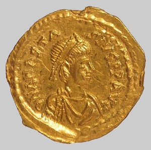 anastasius tremissis mint of const