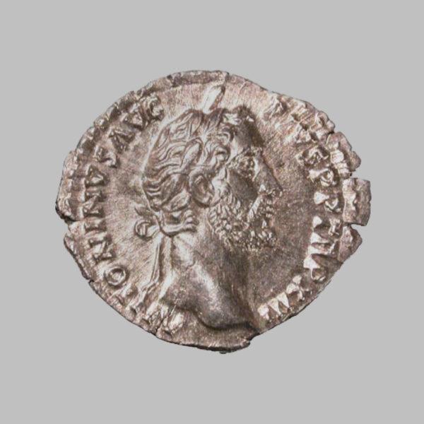 ANTONINUS PIUS (138-161 AD), DENARIUS 149-152 AD