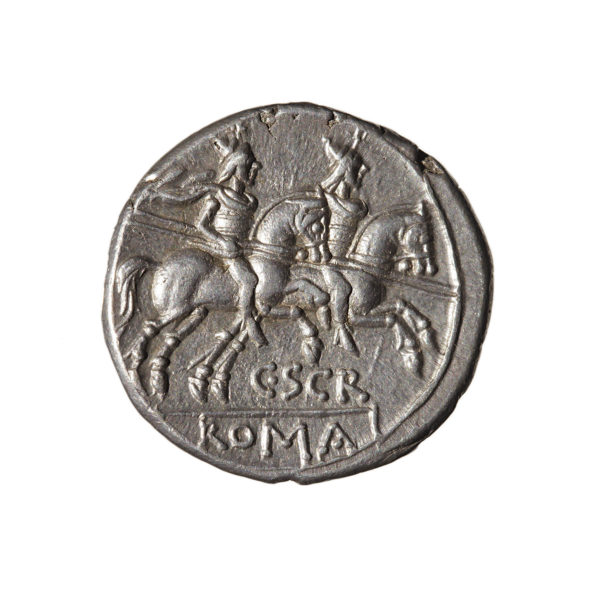 C scribonia denarius Rome rev