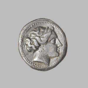 CARIA, KNIDOS, C.390-330 BC, AR DRACHM