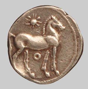 Carthago half shekel rev