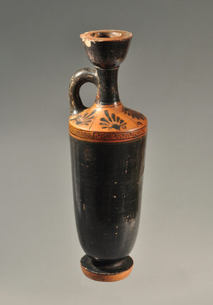 ATTIC BLACK FIGURE LEKYTHOS