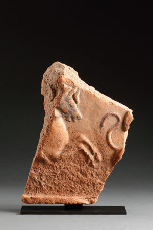 TERRACOTTA FRIEZE FRAGMENT