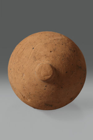 ETRUSCAN TERRACOTTA VOTIVE MODEL OF BREAST