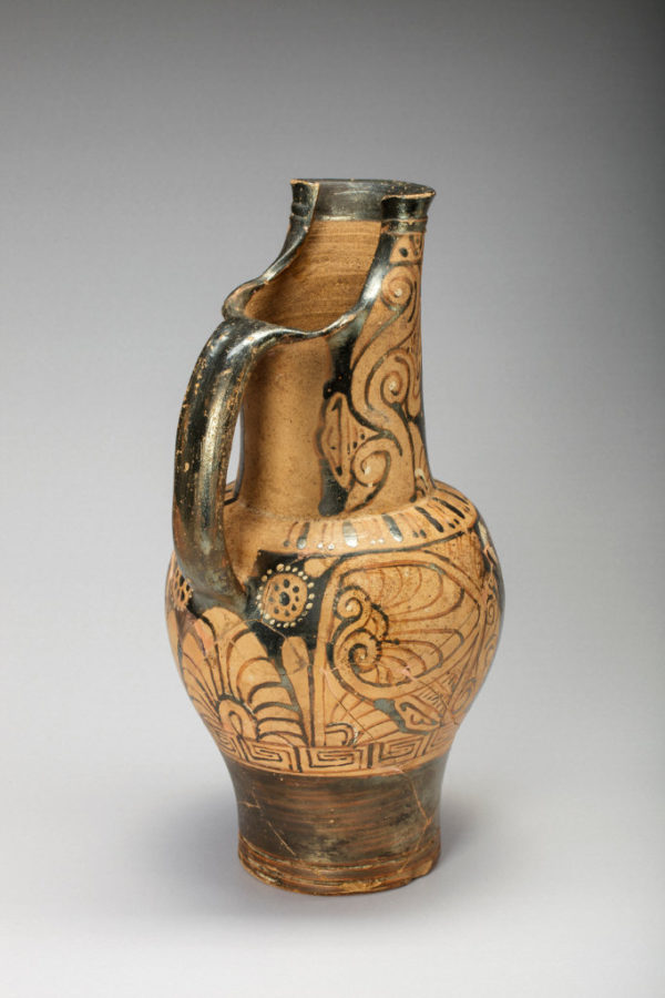 Etruria red figured Oinochoe