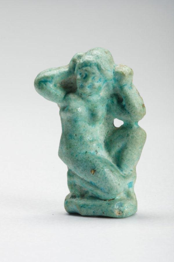 Faience Statuette Of Aphrodite   kunsthandel Mieke Zilverberg