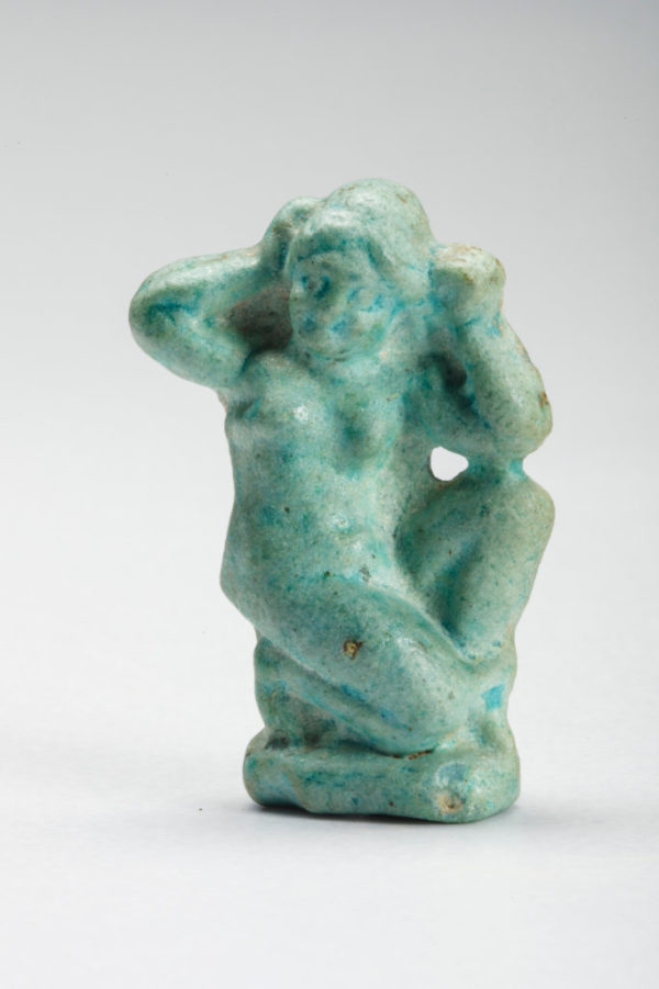 Faience Statuette Of Aphrodite | kunsthandel Mieke Zilverberg