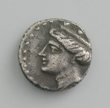 PAPHLAGONIA, SINOPE, AR HEMIDRACHM, 306-290 BC