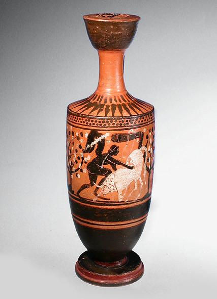 Attic black figure Lekythos