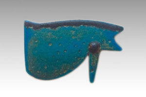 BLUE FAIENCE UDJAT EYE