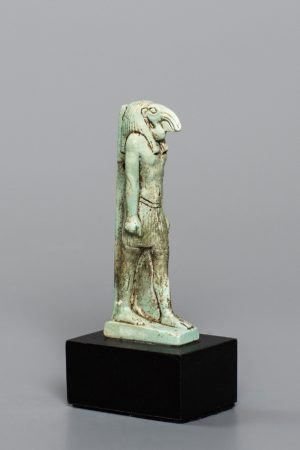 BLUE FAIENCE GOD THOTH