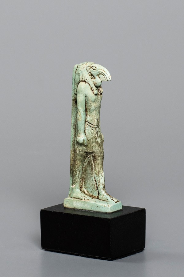 BLUE FAIENCE THOTH