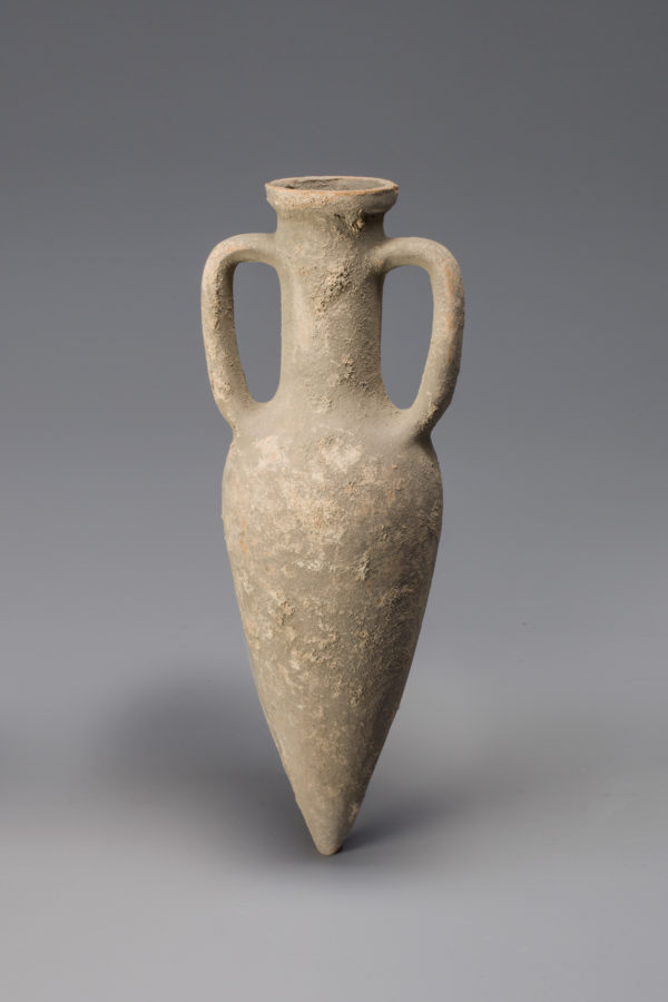 Roman terracotta point amphora