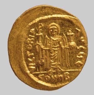 Phocas 602-610 AD Constantinople rev.