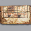 Polychrome Wood Sarcophagus Fragment