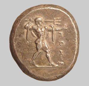 Posidonia didrachm 480 BC