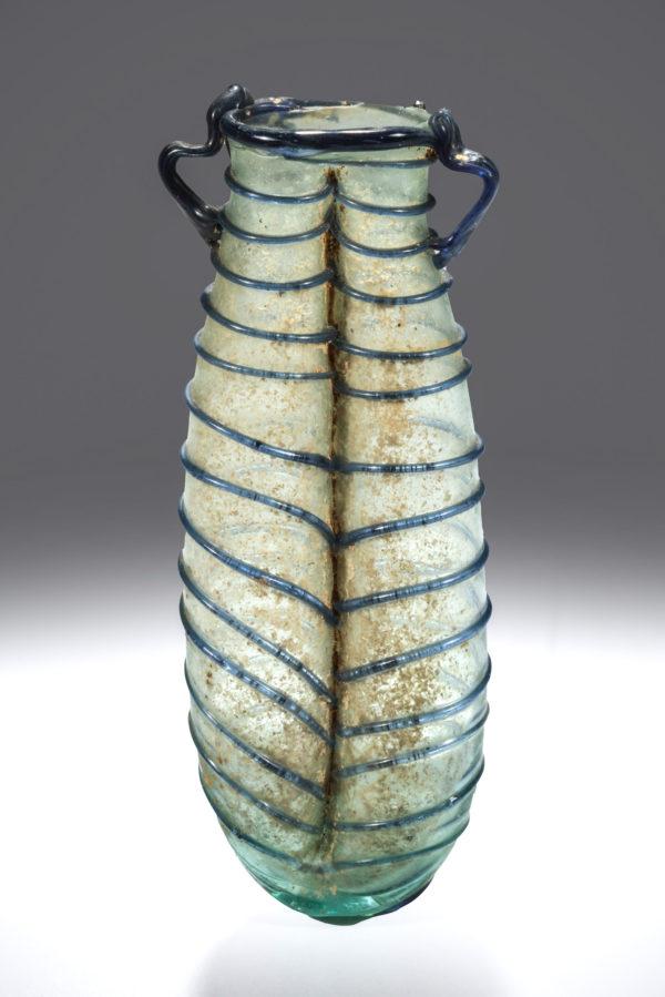 ROMAN BLUISH DOUBLE BALSAMARIUM
