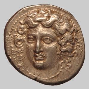 Larissa silver stater 350 BC