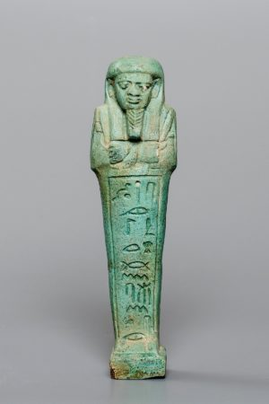 EGYPTIAN FAIENCE USHABTI