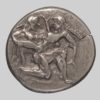 THRACIAN ISLANDS, Thasos, silver stater, 510-490 BC