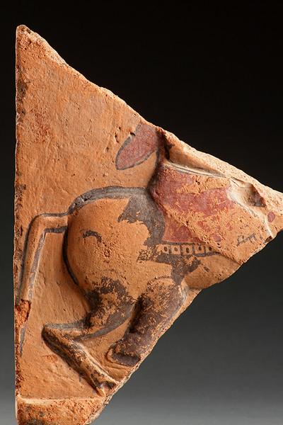 anatolian terracotta frieze fragment