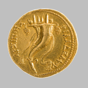 ARSINOE ii, 276-270 BC. COMMEMORATIVE AV OCTADRACHM, PTOLEMY ii, PHILADELPHOS, 180-116 BC