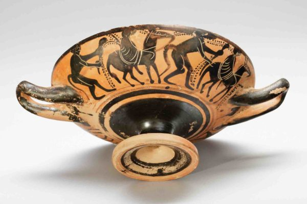 attic black-figure kylix