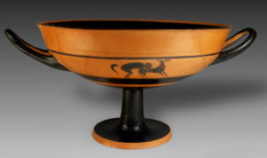 attic black-figure kylix, oakshott painter