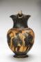 attic black-figure trefoil oinochoe 5061