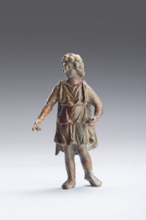 bronze figure of alexander the great