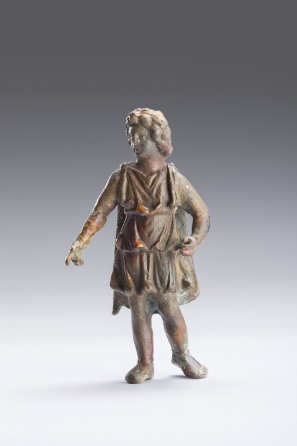 bronze figure of alexander the great