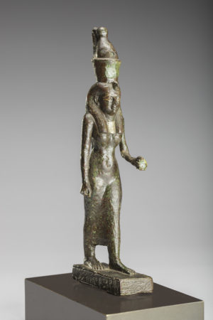 bronze figure of goddess mut